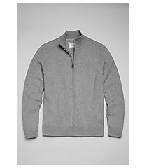 1905 collection cotton full-zip men's sweater