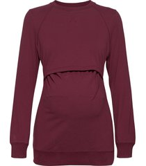 b warmer sweatshirt hoodie trui rood boob
