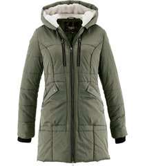 giacca con cappuccio foderato (verde) - bpc bonprix collection