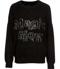 maglione con strass (nero) - rainbow