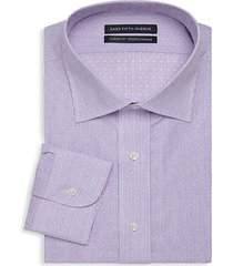 classic-fit pinstripe dress shirt