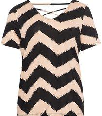 carbandana s/s top t-shirts & tops short-sleeved rosa only carmakoma