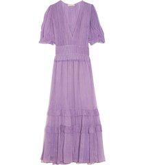 elodie dress in lavender