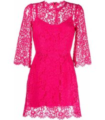 dolce & gabbana embroidered lace cocktail dress