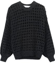 iro alyne lurex sweater