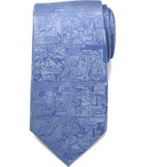 dc comics superman comic men's tie