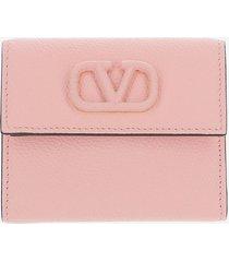valentino designer wallets, pink wallet