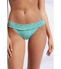 calzedonia brazilian swimsuit bottom malaga woman green size 4