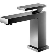 torneira para banheiro mesa bica baixa new edge grafite polido - 00925048 - docol - docol