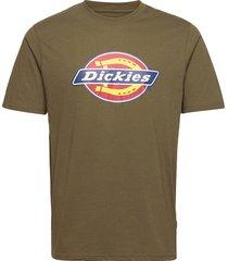 icon logo tee t-shirts short-sleeved grön dickies