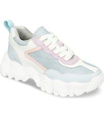 zapatos casuales azul lila bata ixu mujer
