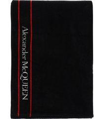 alexander mcqueen terry beach towel selvedge