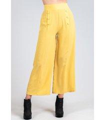 pantalon lava amarillo night concept