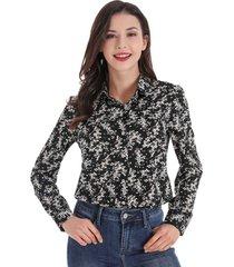 blusa otoño vintage negro nicopoly