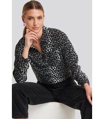rut&circle mandy shirt - grey,multicolor