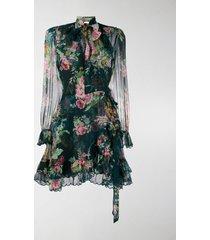 zimmermann floral-print ruffled dress