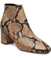 h ymoon shoes boots ankle boots ankle boot - heel brun jennie-ellen