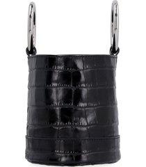 bonsai 15 leather bucket bag