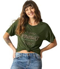 exterior camiseta verde leonisa j1854s
