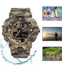 camuflaje militar reloj smael cronómetro deportivo natación