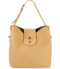 furla net leather hobo bag