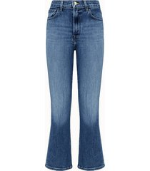 j brand jeans julia in denim azzurro