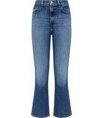 j brand jeans julia in denim azzurro
