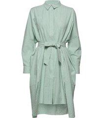seffern dress jurk knielengte groen holzweiler