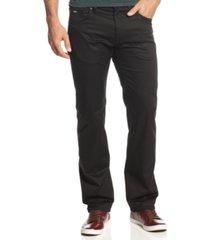 boss maine core black pants