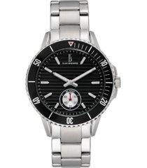 ellen degeneres women's silver stainless steel bracelet watch 40mm