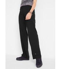 bengaline stretch broek met verstelbare band binnenin, straight