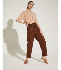 pantalón marrón portsaid light garment dye