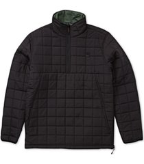 billabong men's quilted anorak jacket