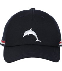 classic baseball cap with dolphin