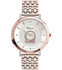 women's salvatore ferragamo minuetto bracelet watch, 36mm