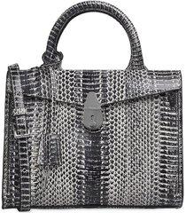 calvin klein phyton print handbag