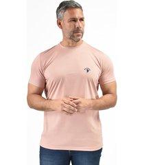 camiseta básica palo rosa para hombre