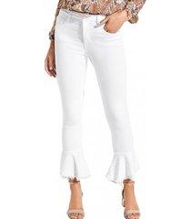 jeans tavex cristal hu80 blanco guess