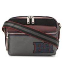 bally bolsa tiracolo com patch de logo - estampado