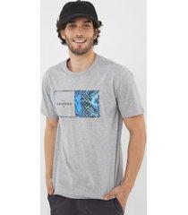 camiseta nicoboco falsterbo cinza - cinza - masculino - dafiti