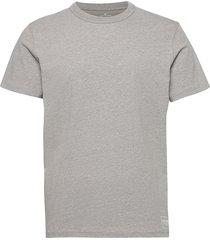 basic t-shir t-shirts short-sleeved grå tom tailor