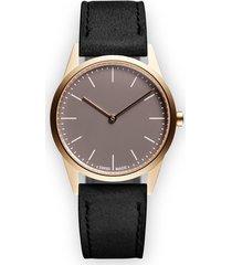uniform wares c33 two hand watch - metallic