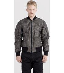 kurtka black tyvek bomber jacket reedition