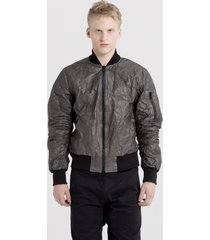 kurtka black tyvek bomber jacket reedition
