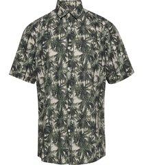 aop palm leaves shirt s/s kortärmad skjorta multi/mönstrad lindbergh