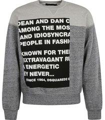 dsquared2 d & d story sweatshirt