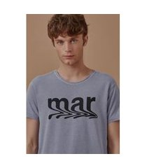 t-shirt mar azul - m