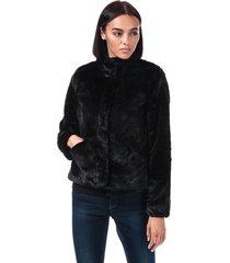 womens vida faux fur jacket