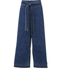 calça jeans carmim pantacourt gil azul