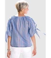 singoallablus dress in blå/flerfärgad